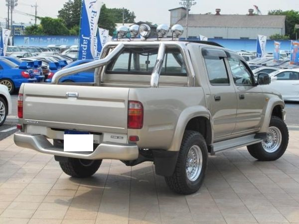 Superior 2003 Toyota Hilux Double Cab Rzn169h 2.7 Sale Japan 40k 1