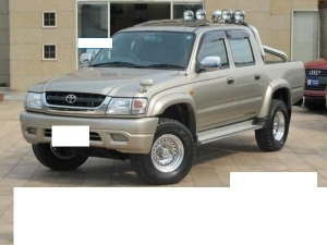 2003 toyota hilux double cab rzn169h 2.7 sale japan 40k