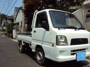 2004 subaru sambar mini truck sale japan 109k-1