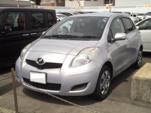 2007 toyota vitz ksp90 sales japan 46k-1 1.0