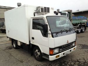 1992 mitsubishi fuso canter fe 305 280k sales japan refrigerated truck u fe305b