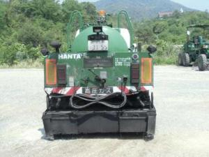 2000 hanta asphalt emulsion disatributor truck sale japan-2