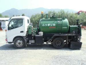 2000 hanta asphalt emulsion disatributor truck sale japan