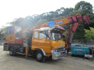 1988 cranes truck hino FD1 kato for sale japan