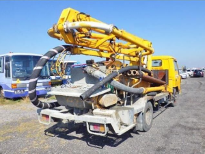 1994 mitsusbishi fuso concrete pump truck for sale in japan
