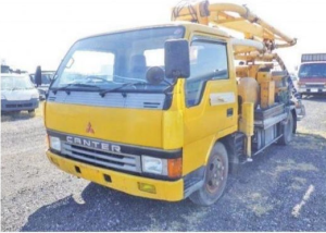 used concrete pump trucks for sale in japan used