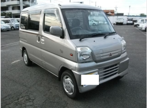 2000 mitsubishi townbox u61w 660cc kei car for sale japan 95k-1