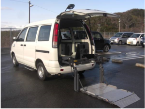 2004 toyota lightace van welfare vehicles kr42v 1.8 welcab sale japan 120k-2