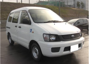 2004 toyota lightace van welfare vehicles kr42v 1.8 welcab sale japan 120k