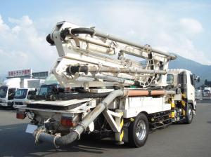 2008 hino kyokutou kaihatsu soncrete pump truck used sale japan py115a-26b fh1 japan-1