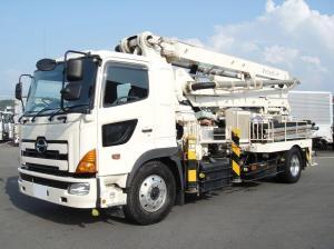 2008 hino kyokutou kaihatsu soncrete pump truck used sale japan py115a-26b fh1 japan