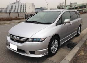 honda odyssey rb1 2.4 sale japan 105k