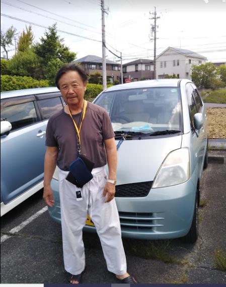 karate man kazuo kuroyanagi 4 dan in japan