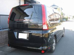 nissan serena 2005 for sale in japan 125k-1