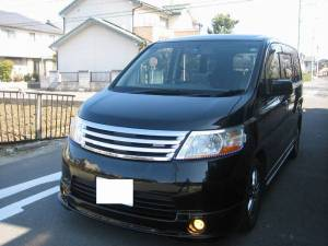 nissan serena 2005 for sale in japan 125k
