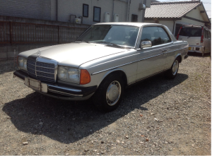 1983 mercedes benz 280ce 280 ce 3.0 for sale japan 92k-1