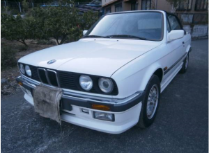 1990 bmw 320i 2.0 covertible for sale japan