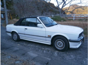 1990 bmw 320i 2.0 covertible for sale japan -1