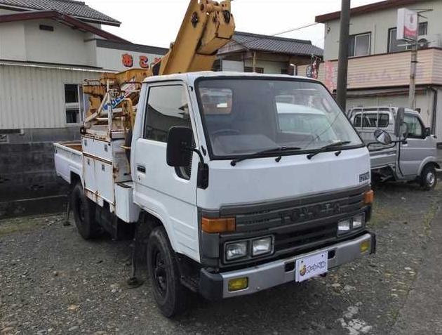 1990 toyota dyna bu66 3.0 diesel cherry picker used for sale in japan 48k