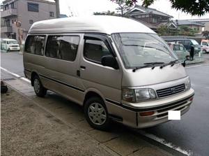 1994 toyota hiace grand cabin g high roof super long kzh120 3.0 for sale in japan 220k-1 1kz 10 seaters diesel