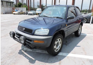 1994 toyota rav4 4wd 5MT 2.0 95sxa10 for sale in japan