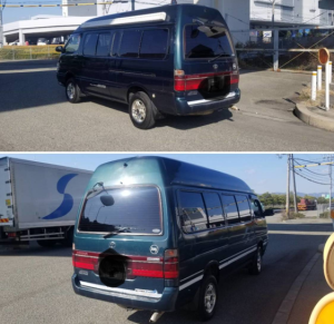 2000 toyota hiace 1kz 3.0 diesel turbo super long for sale in japan