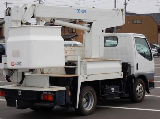 2001 mitsubishi fuso used cherry picker 5.2 diesel manual fe 55 ee for sale in japan 140k-1
