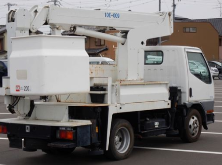 2001 mitsubishi fuso used cherry picker 5.2 diesel manual fe 55 ee for sale in japan 140k-1