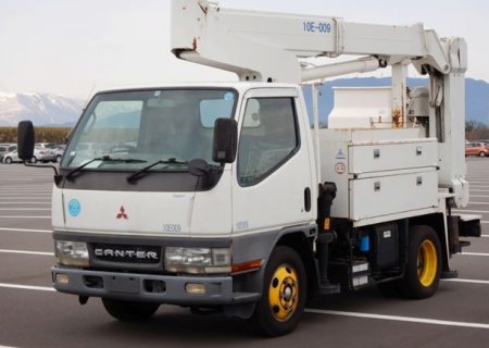 2001 mitsubishi fuso used cherry picker 5.2 diesel manual fe 55 ee for sale in japan
