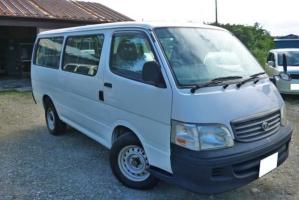 2001 toyota hiace van long kzh110g kzh110 3.0 diesel turbo for sale in japan 10 seater