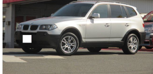 2005 bmw x3 2.5i for sale japan 98k
