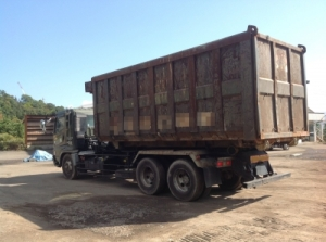 mitsubishi arm roll truck for sale in japan 8dc11 engine 2