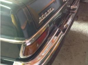 1972 mercedes benz 300sel 3.5 v8 for sale japan 100k-1