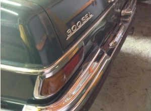 1972 mercedes benz 300sel 3.5 v8 for sale japan 100k-1