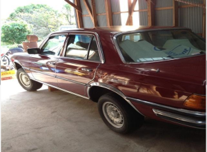 1976 mercedes benz w116 4.5 280s for sale japan 55k-1