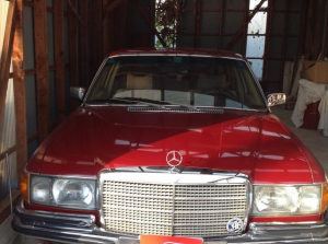 1976 mercedes benz w116 4.5 280s for sale japan 55k
