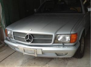 1983 mercedes benz 380sec 60k for sale japan