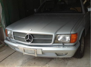1983 mercedes benz 380sec 60k for sale japan