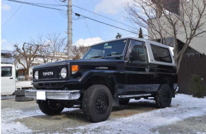 1986 toyota land cruiser bj73 3.5 diesel mt 268k for sale japan