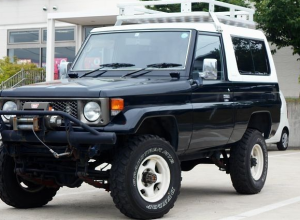 1987 toyota land cruiser bj74 bj74v 3.4 diesel LX for sale in japan