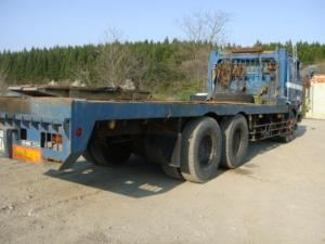 1988 10 ton self loader nissan ud for sale japan 183k-1 cw54