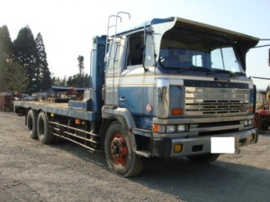 1988 10 ton self loader nissan ud for sale japan 183k cw54