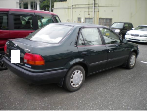 1995 toyota corolla se saloon ae110 1.5 for sale japan 35k-1