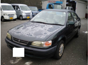 1995 toyota corolla se saloon ae110 1.5 for sale japan 35k
