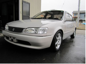 1997 toyota corolla se110 manual shift 1.5 for sale in japan 72k