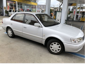 1998 toyota corolla ae100 se saloon L limited for sale in japan