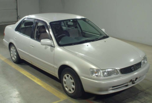 1998 toyota corolla manual xe saloon limited 1.5 ae110 used cars for sale in japan
