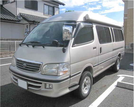 Camper 2002 1999 toyota hiace conversion for sale japan