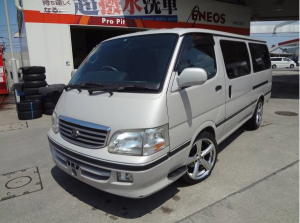 2002 toyota hiace diesel 3.0 camper campervan conversion for sale in japan kzh110g 180k