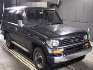 1991 toyota land cruiser AT prado sx5 lj78 lj78g 2.4 diesel 4wd 4x4 used cars for sale in japan